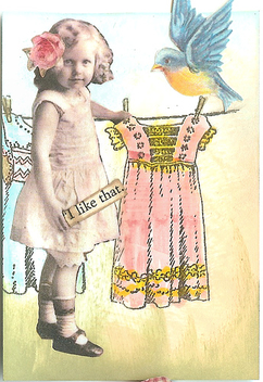 Paper Doll Dress - Kostenloses image #310469