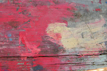 Red Painted wood texture - image #310849 gratis