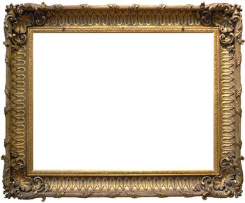 Frame 16 - Ornate Gold - image gratuit #311859