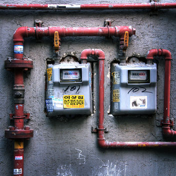 Outdoor Gas Installation - Free image #313219