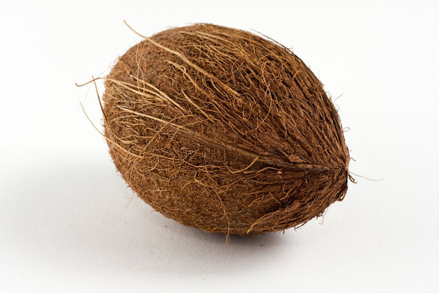 Oval shaped brown coconut - image gratuit #313769