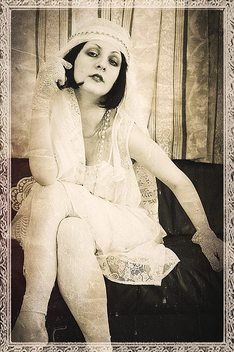the actress of a silent movie 2 - Kostenloses image #313969
