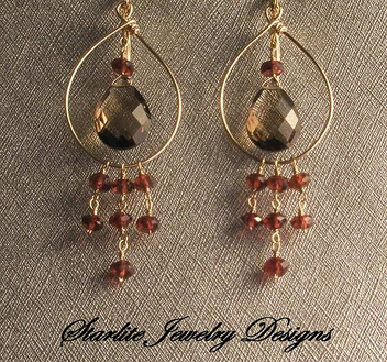 Starlite Jewelry Designs ~ Briolette Earrings ~ Handmade Jewelry Design ~ San Francisco Jewelry Designer. - бесплатный image #314109