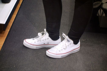 fitting converse all star white 1 - image #315269 gratis
