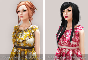 Hair Fair 2013 - ~Tableau Vivant~ Scarborough - Fall & Teichmann - Winter - image #315679 gratis