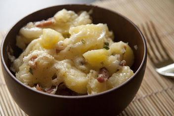 Potato, cheese and Speck - image gratuit #317089