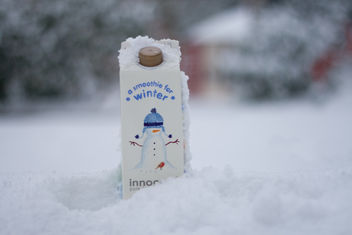 Innocent smoothie in snow shocker - image gratuit #317249
