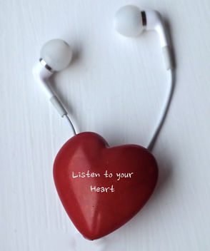 Listen to your Heart - Free image #317839