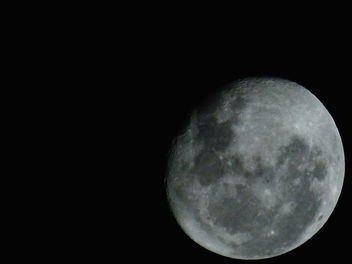 The moon today :D - image gratuit #318219