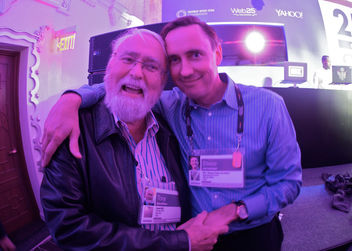 A tender moment with my Dad at TED this year, and a photo tribute to his passage. R.I.P. - бесплатный image #319619