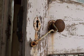 Rusty Door Knob - Free image #320409