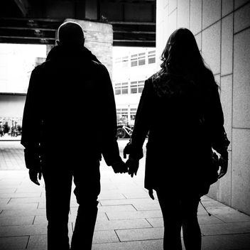 Love - Dublin, Ireland - Black and white street photography - Free image #320879