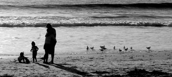 Moana Beach Family Adelaide #dailyshoot #people #Australia - Kostenloses image #323869
