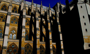 Westminster Abbey Contrasts #dailyshoot #leshainesimages #London #tourist - image gratuit #323949