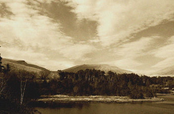 Brecons Sky Sepia Pen y Fan #leshainesimages - Kostenloses image #324119