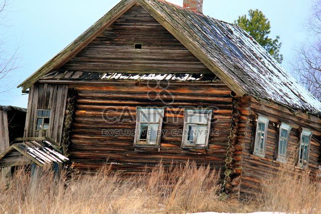 Russian peasant's house - Kostenloses image #326539