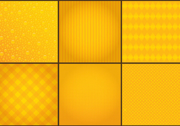 Yellow Background Vectors - vector gratuit #326649