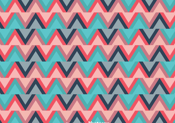 Ethnic Zig Zag Background - vector gratuit #326699
