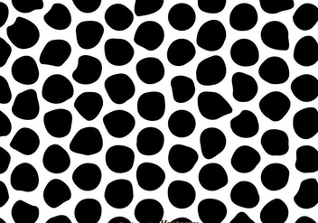Black And White Irregular Circle Pattern - Kostenloses vector #327149