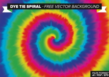 Dye Tie Spiral Free Vector Background - vector gratuit #327589