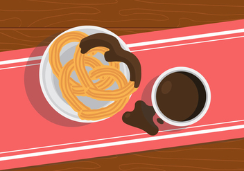 Vector Churros - vector gratuit #327599