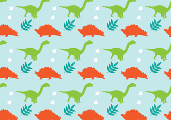 Dinosaur Background - vector gratuit #327949