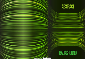 Green lines background - vector gratuit #328809