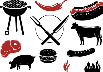 Free Barbeque Vectors - vector gratuit #329519