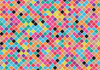Free Colorful Squared Background Vector - Free vector #329689