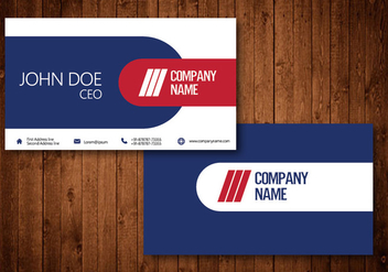 Creative Business Card - vector gratuit #329819