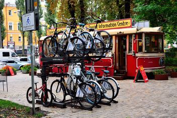 Parking for bicycles - image gratuit #330279