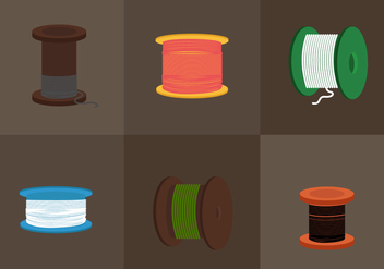 Cable Spool - vector #330509 gratis
