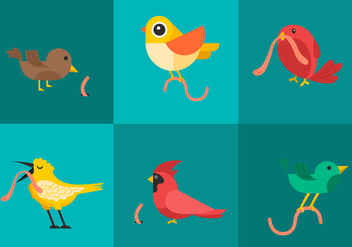 Early Bird Vectors - vector #330529 gratis