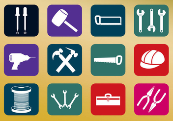 Tools Icon Vectors - Free vector #330569
