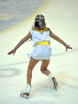 Ice skating dancer - image gratuit #330989