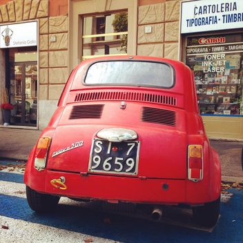 Red Fiat 500 - Free image #331179