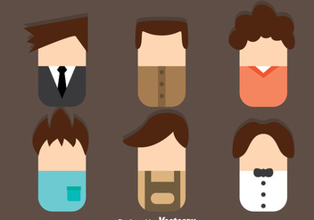 Male Avatar Flat Style - Free vector #331289