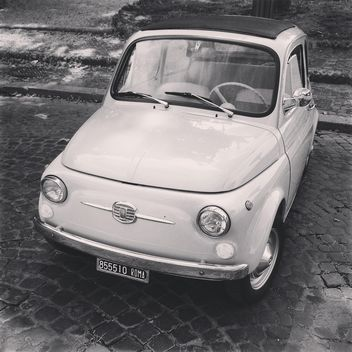 Fiat 500 in street - Free image #331589