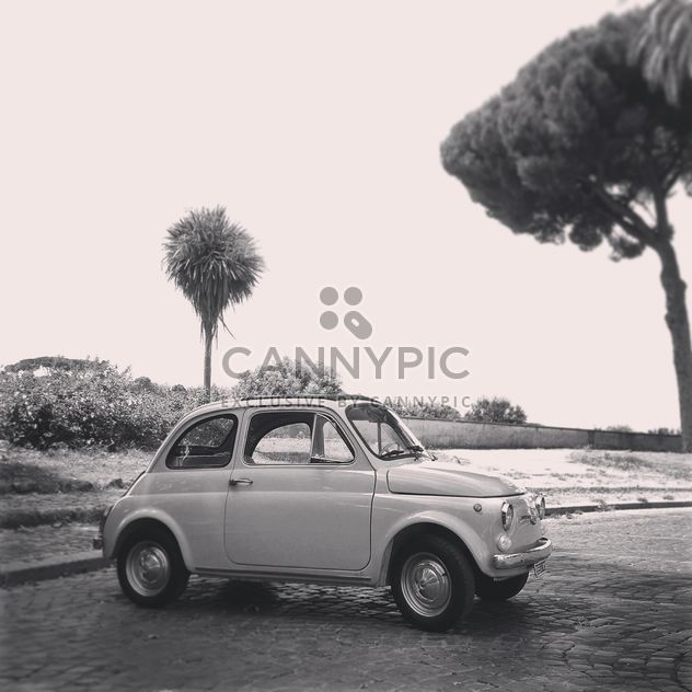 Old Fiat 500 car - Free image #331629