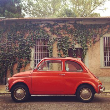 Fiat 500 Red - Free image #331709