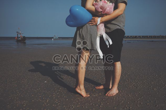 lovers on the beach - Free image #332869