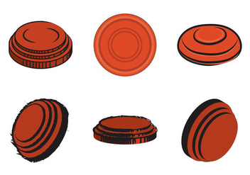 Free Clay Pigeon Vector Illustration - Free vector #332999