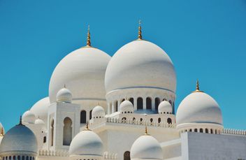 White doms of Mosque - Free image #333259
