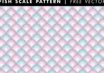 Fish Scale Patterns Free Vector - Free vector #333369