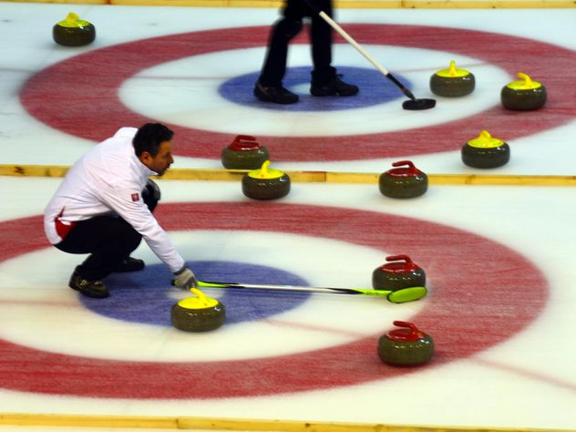 curling sport tournament - image gratuit #333579