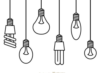 Hanging Light - vector gratuit #333819