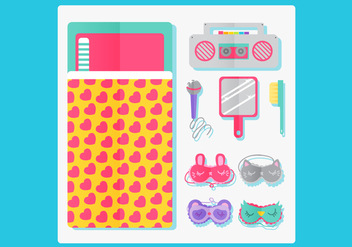Slumber Party Vector Design - Free vector #333849