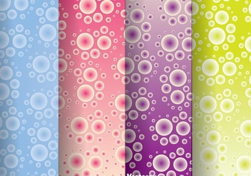 Bubble Polka Dot Pattern - vector #334109 gratis