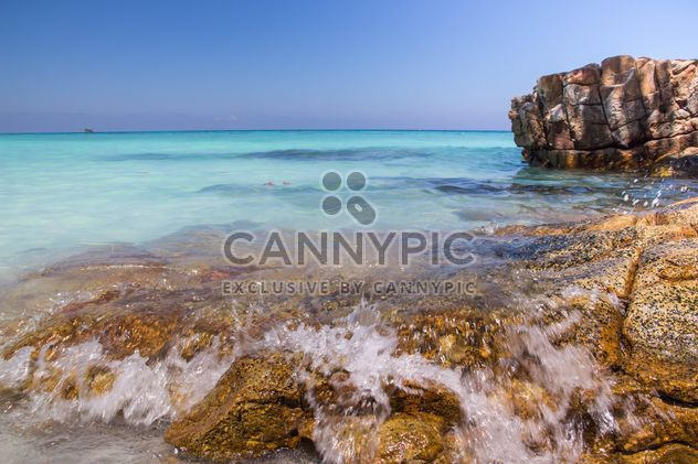 A high-dynamic look to this rocky sea shore - Free image #334249