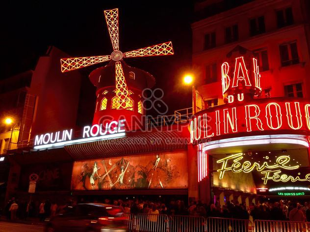 Moulin Rouge - image gratuit #334259